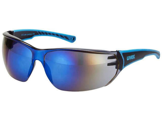 UVEX sportstyle 204 Cykelbriller blå/sort